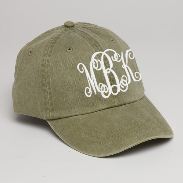 Khaki Personalized Baseball Hat