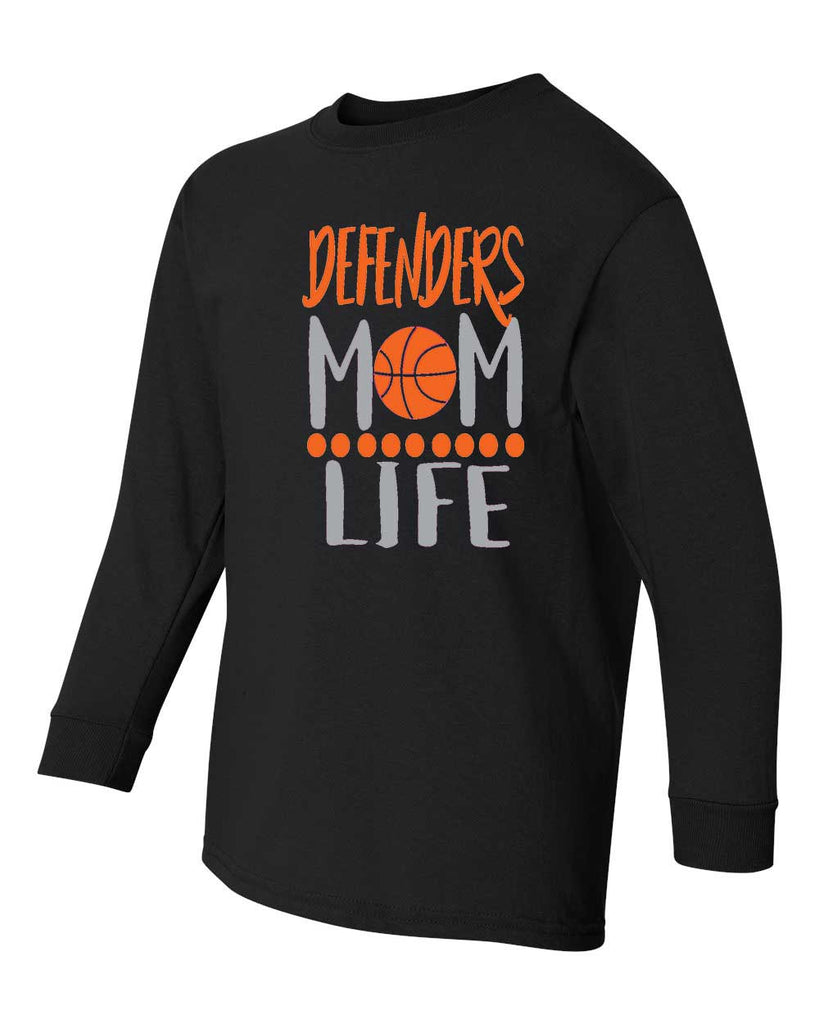 Defenders Mom Life Spirit Wear -Fruit of the Loom Long Sleeve T-shirt