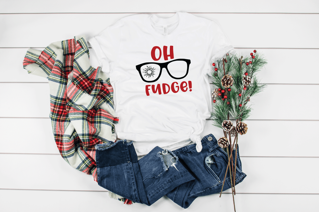 Oh Fudge.......Only He Didn't say Fudge! Christmas T-Shirt