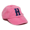 Hot Pink Monogrammed single letter hat