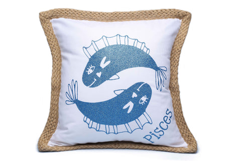 Pisces Zodiac Pillow Cover