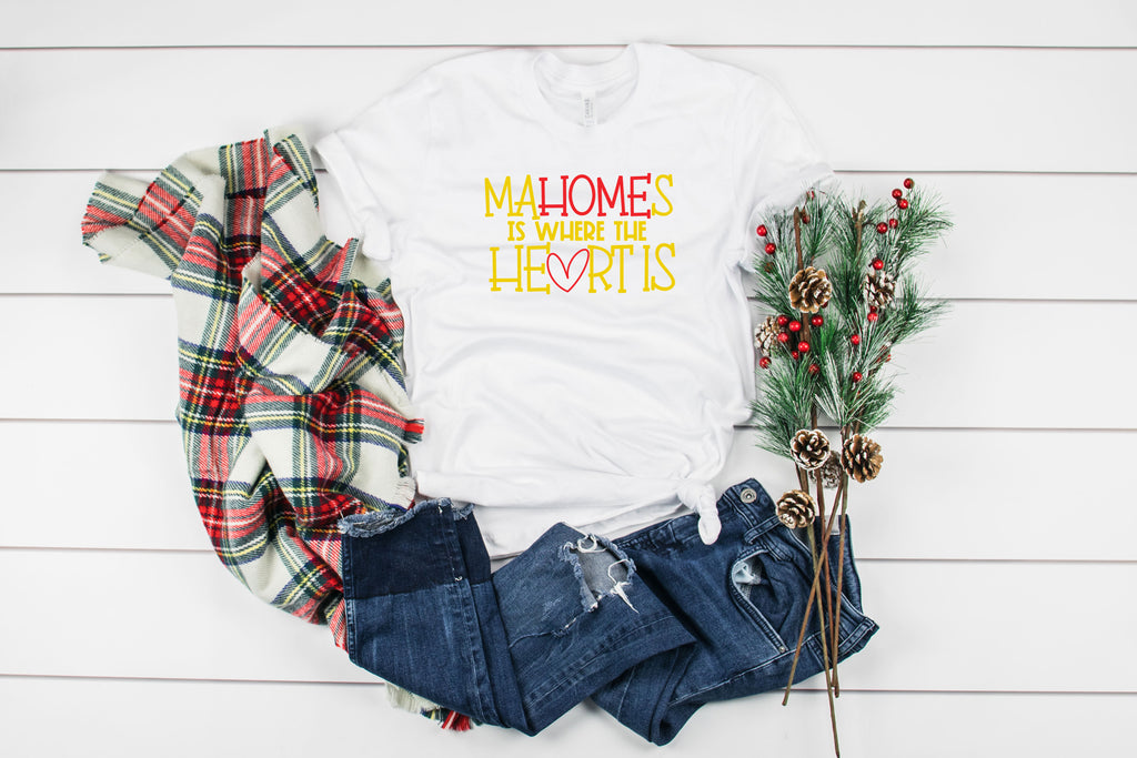 MaHOMEs Is Where the Heart Is Tee Shirt