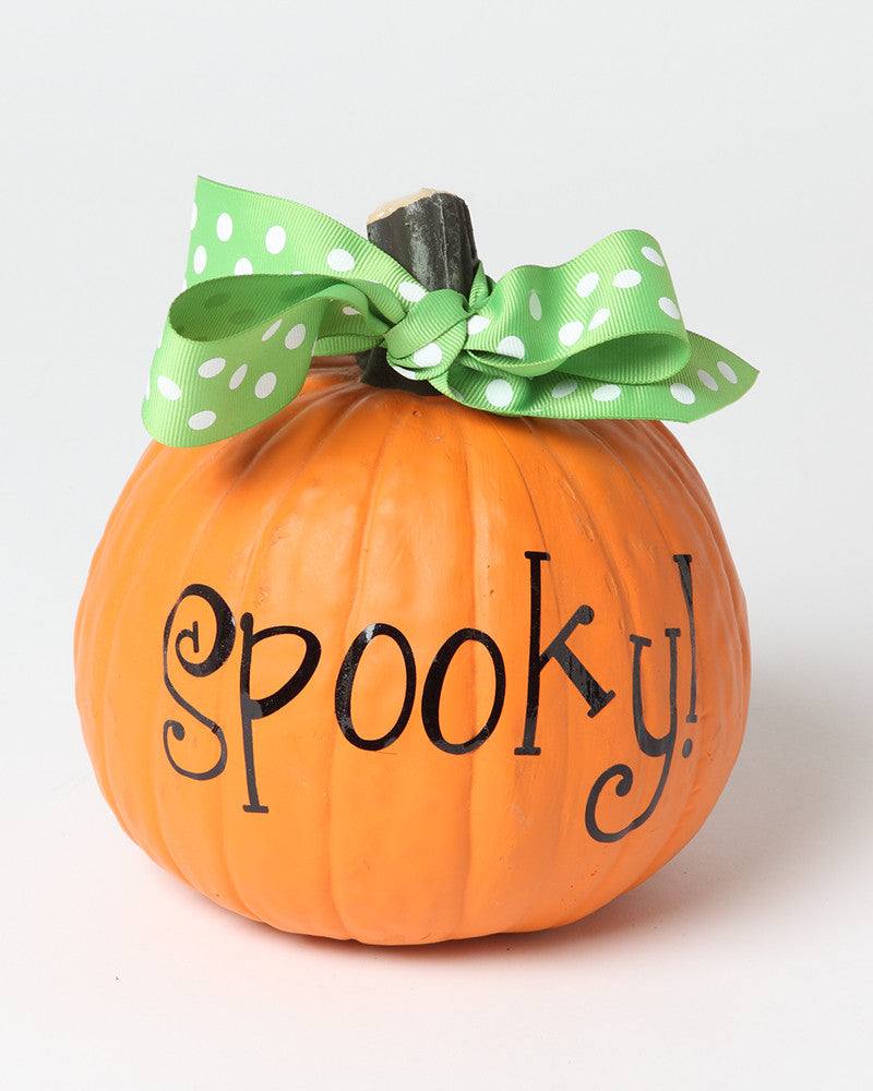 Spooky Pumpkin Vinyl on Monogram