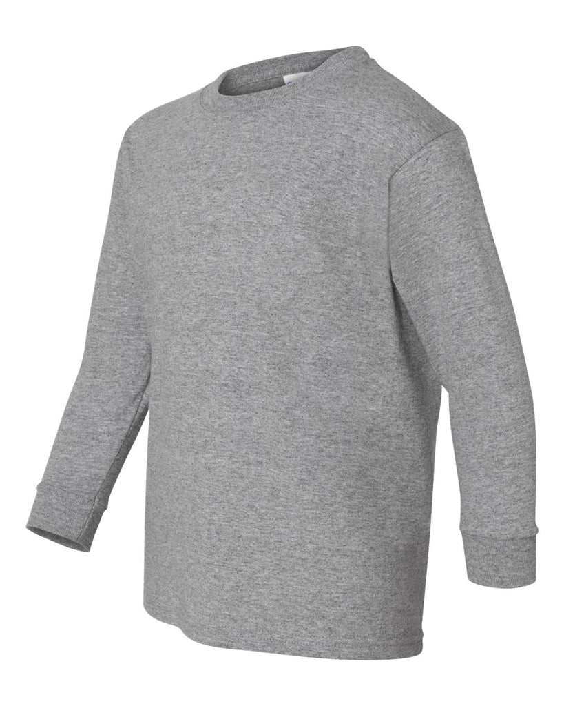 Fruit of the Loom Long Sleeve T-shirt-Gray