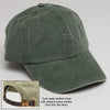 Monogrammed Baseball Hat with Adjustable Strap Spruce Green