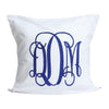 White Seersucker Pillow Euro Sham