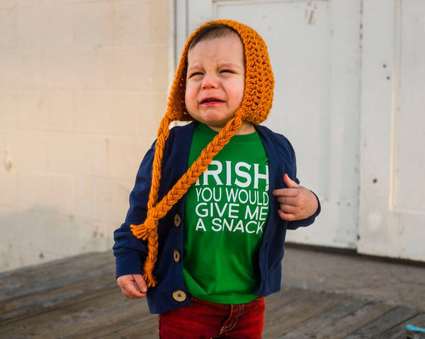 IRISH You Would Give Me a Snack Tee Kids Tee