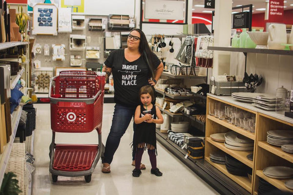 Let's go to Target Adult Racerback Tank (Adult S-2XL)