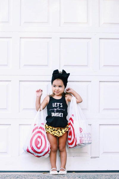 Let's go to Target Kids Racerback Tank (6M-YL)