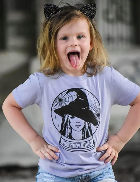 It's Britney Witch Kids Tee