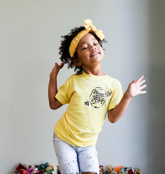 Honey Bee Yourself Kids Tee