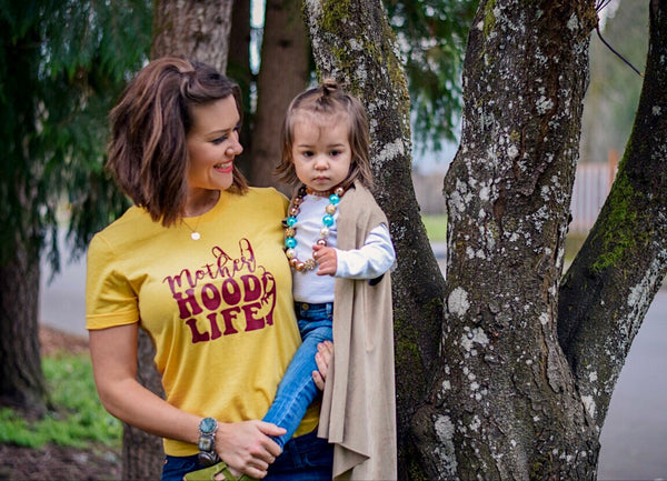 Mother HOOD LIFE™ Retro Mustard Tee