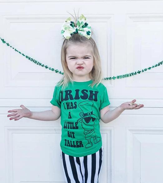 IRISH I was a Little Bit Taller Tee