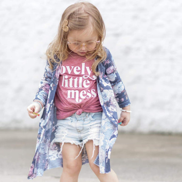 Lovely Little Mess/Little Mess Kids Tee