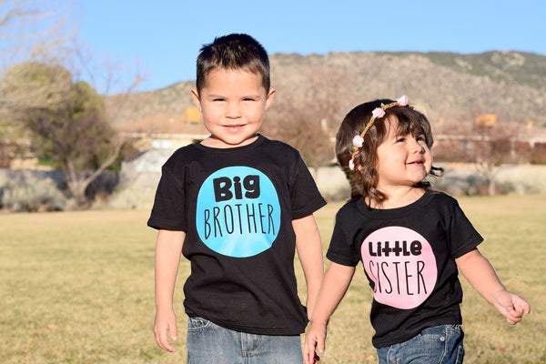 BIG Brother, LITTLE Brother, BIG Sister, LITTLE Sister Onesie or Tee