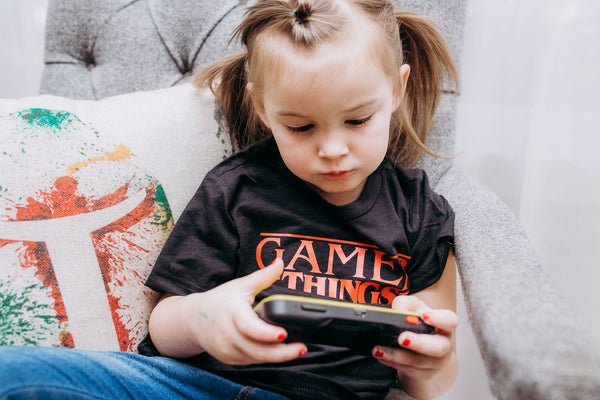 """GAMER THINGS"" Kids Tees"