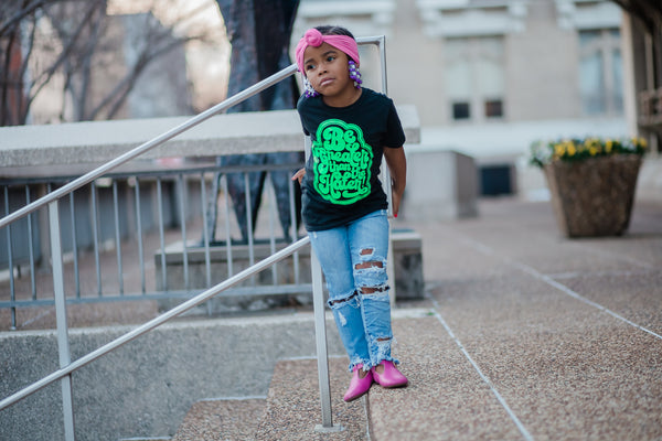 Be Greater Than the Hater(LIMITED NEON) Kids Tee