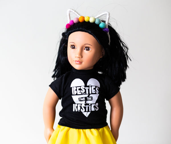 "Mini Tees (for 18"" dolls, babies, stuffed animals etc.)"