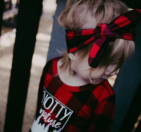 Plaid Headwrap
