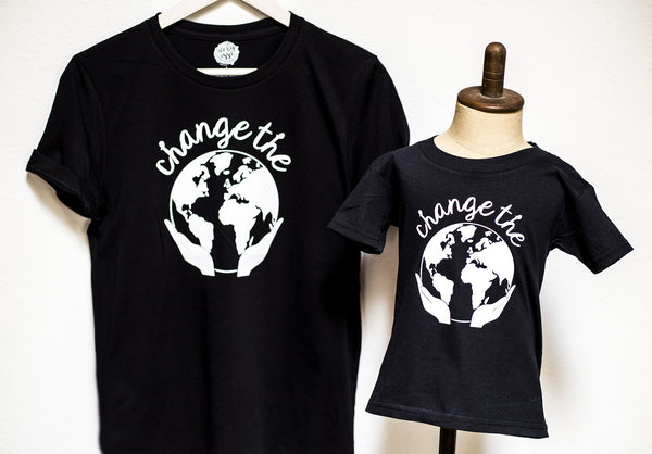 Change the World Adult Tee