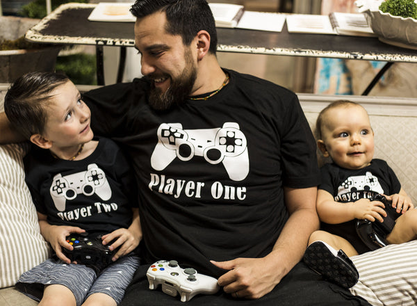 Player THREE, FOUR, FIVE or SIX Add-On Tee/Onesie