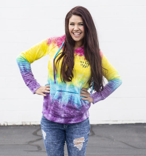 Ice By Issa Tie Dye Adult Women's Hoodie