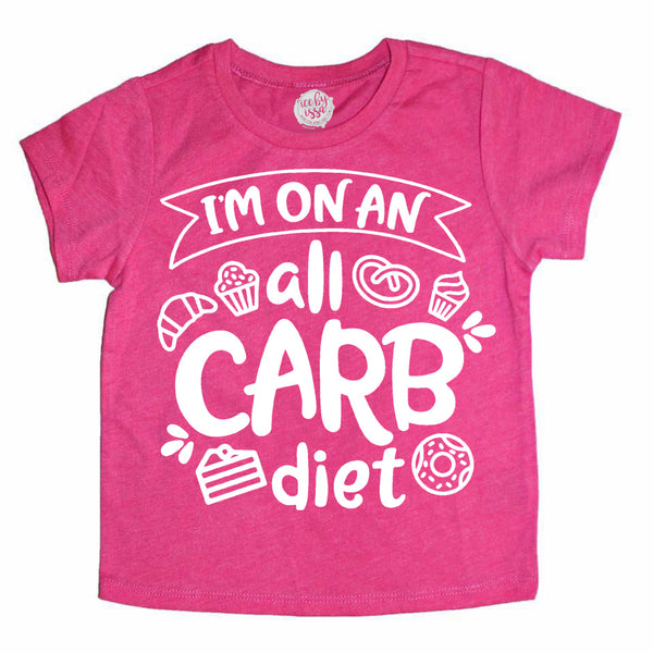 All Carb Diet Kids Tee