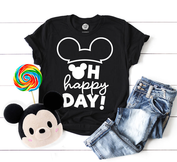 Oh Happy Day Adult Unisex Tee