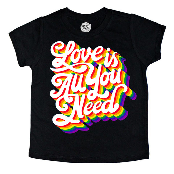 Love is All you Need Kids Tee (Natural)