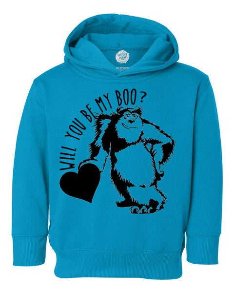 Will you be my Boo Kids Hoodie Sweatshirt