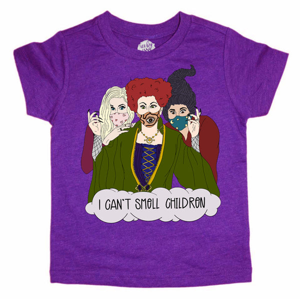 I Can't Smell Children Kids Tee