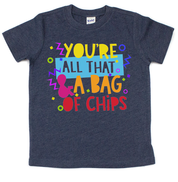 All That and a Bag of Chips Kids Tee