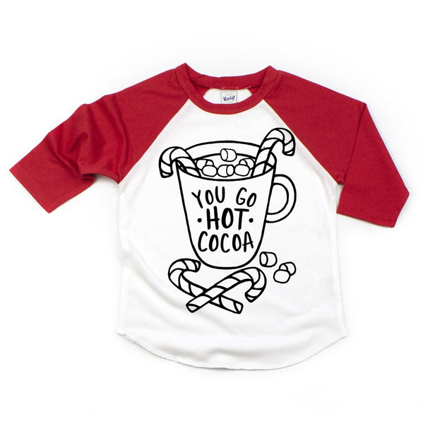 You Go Hot Cocoa Kids Tee