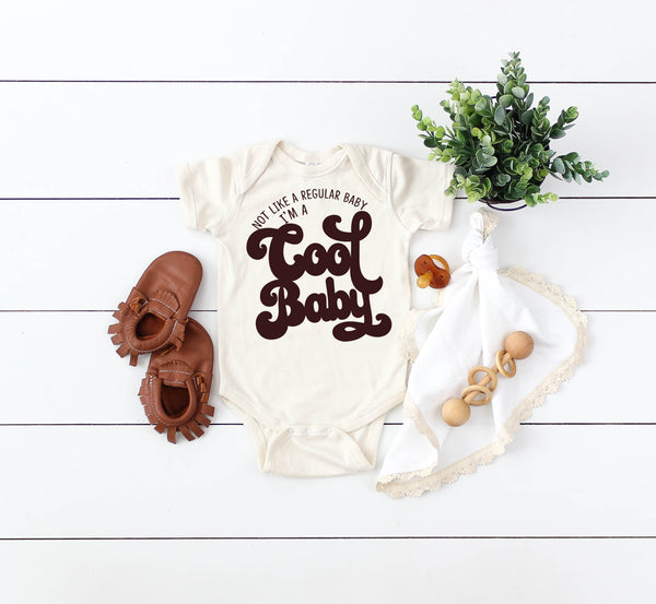 Cool Baby Organic Cream Bodysuit