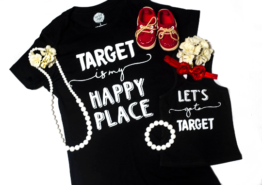 Target is my Happy Place Adult Tee (Adult XS-2XL)