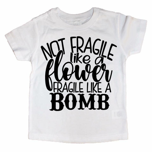 Fragile Like a Bomb Kids Tee