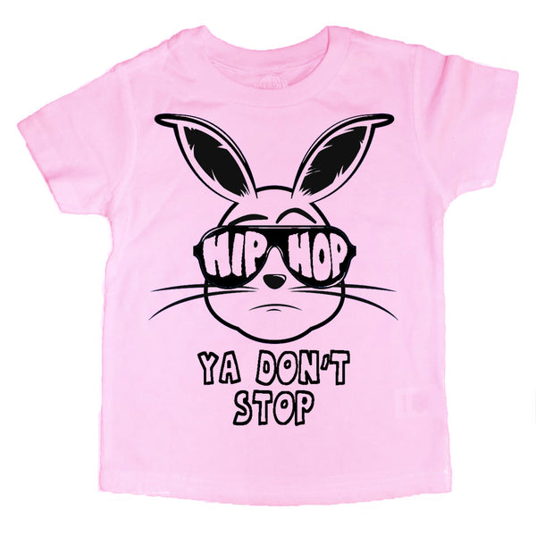 HIP HOP Ya Don't Stop Bunny Kids Tee