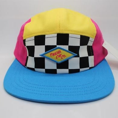 Checkerblock Retro Hat