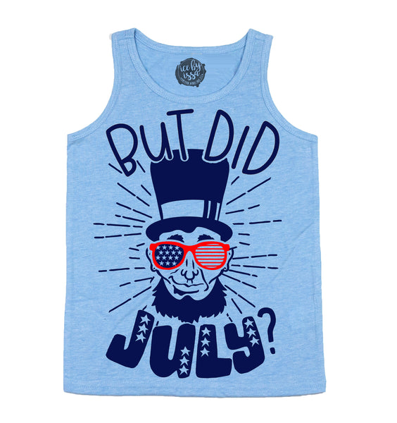 But Did JULY Kids Unisex Scoopneck Tank