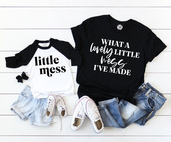 Little Mess I've Made Adult Triblend Unisex Tee