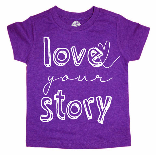 Love Your Story Kids Tee