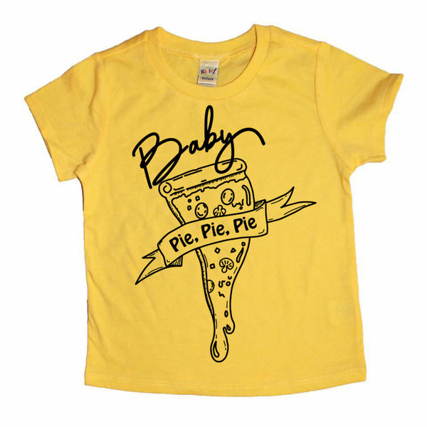 Pie, Pie, Pie Kids Pizza Tee
