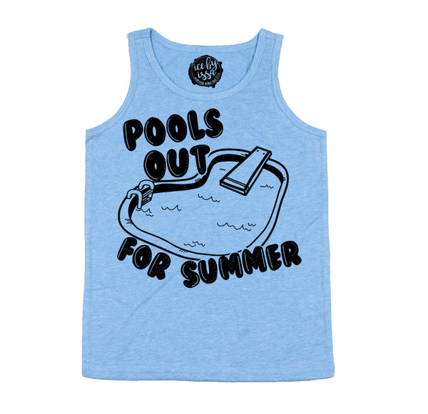 Pools Out For Summer Unisex Scoopneck Tank