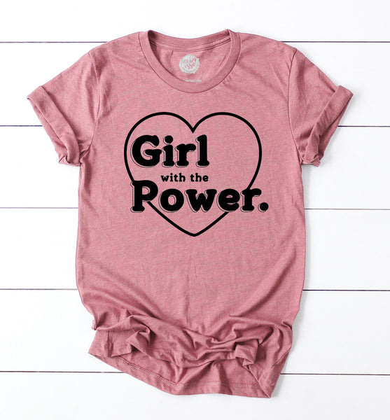 Girl with the Power Unisex Tee