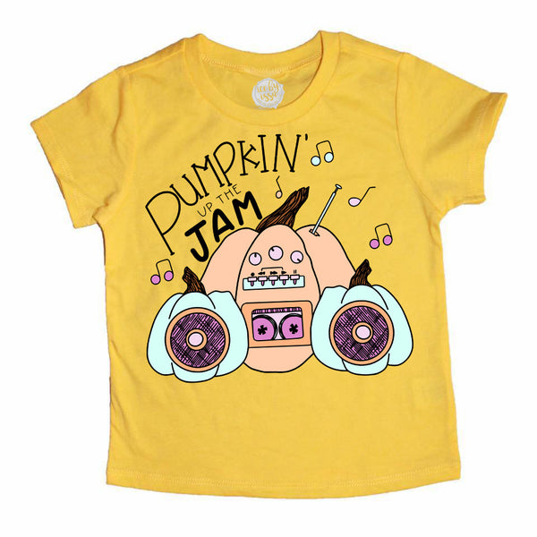 Pumpkin Up the Jam Kids Tee