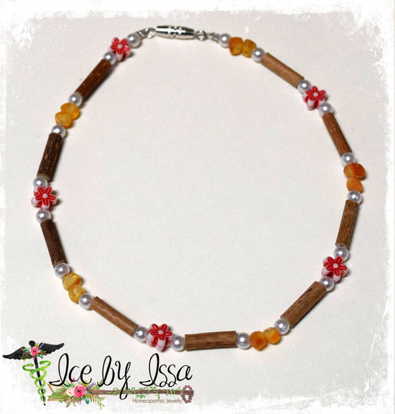 Combination of Amber & Hazelwood- Red Flowers