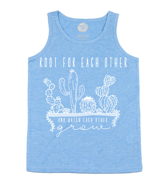 Root For Eachother Unisex Scoopneck Tank