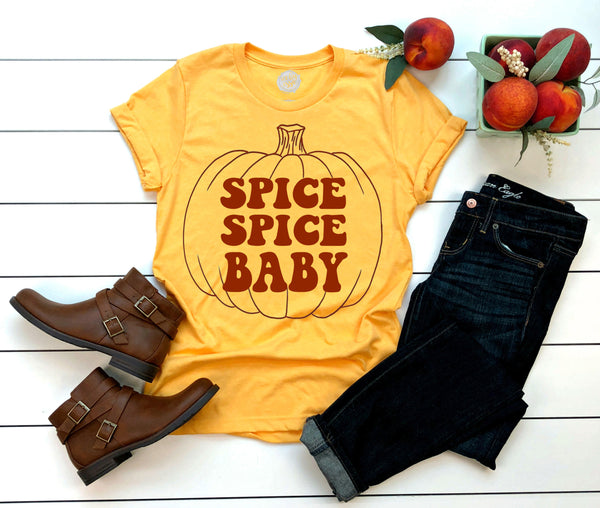 SPICE SPICE BABY Adults Tee (2 color options!)