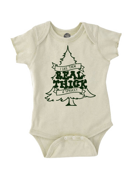 Thick & Sprucey Organic Bodysuit