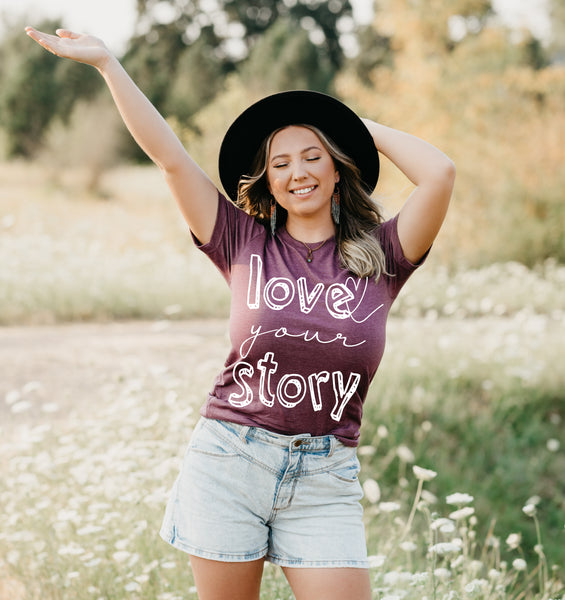 Love Your Story Adult Unisex Tee